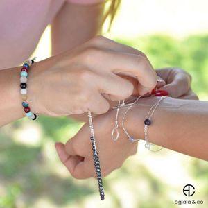 Aglaiaco aglaiaco collection bijoux sentiments contraires collier h%c3%a9matite