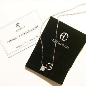 Aglaiaco afrenchieinlondonn collection bijoux o collier quartz.8