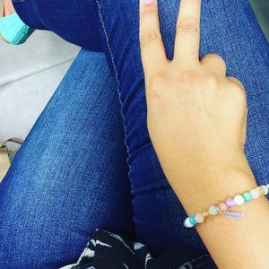 Aglaiaco happyaurelia collection bijoux caprice p%c3%a9tillant bracelet multicouleurs