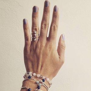 Aglaiaco equilibria collection bijoux bague