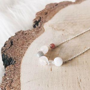 Aglaiaco simplicity collection bijoux collier