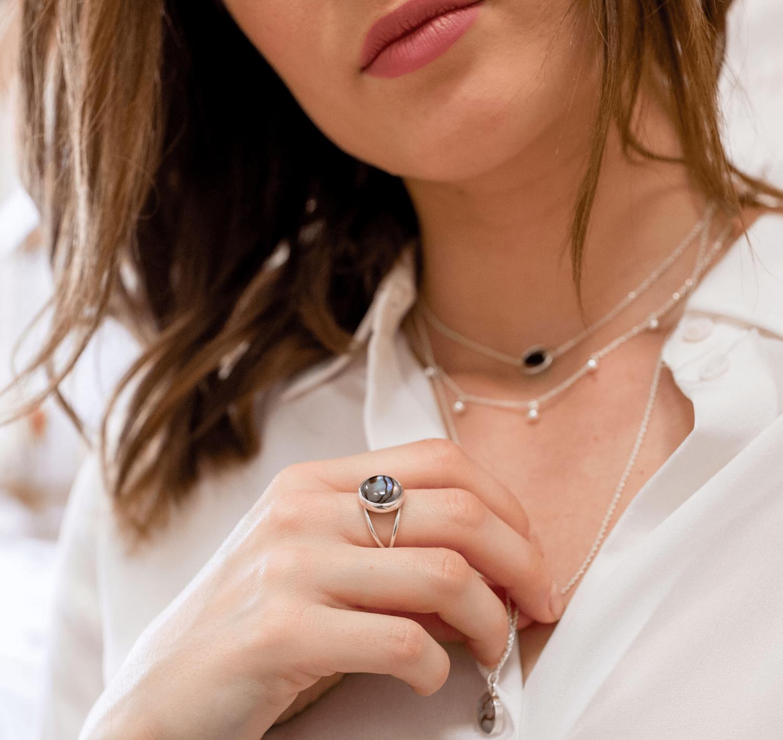 Aglaiaco bijoux %c3%a9thiques made in france pierre de nacre femmes