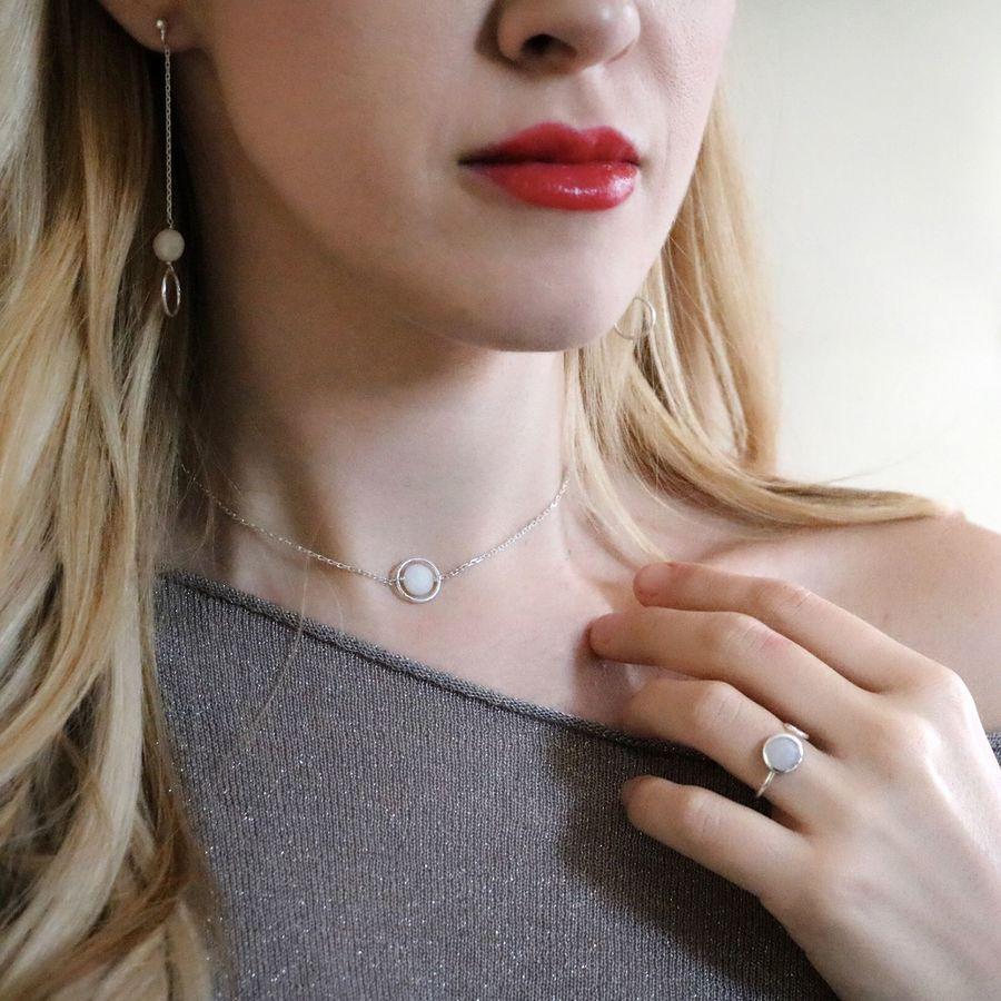 Aglaiaco lilith bijoux silverite collier bague me