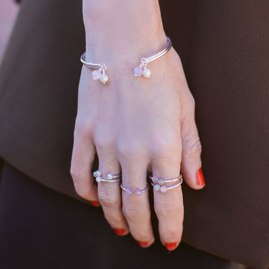 Aglaiaco natachabirds bijoux elegance amehyste sautoir bague jonc %284%29