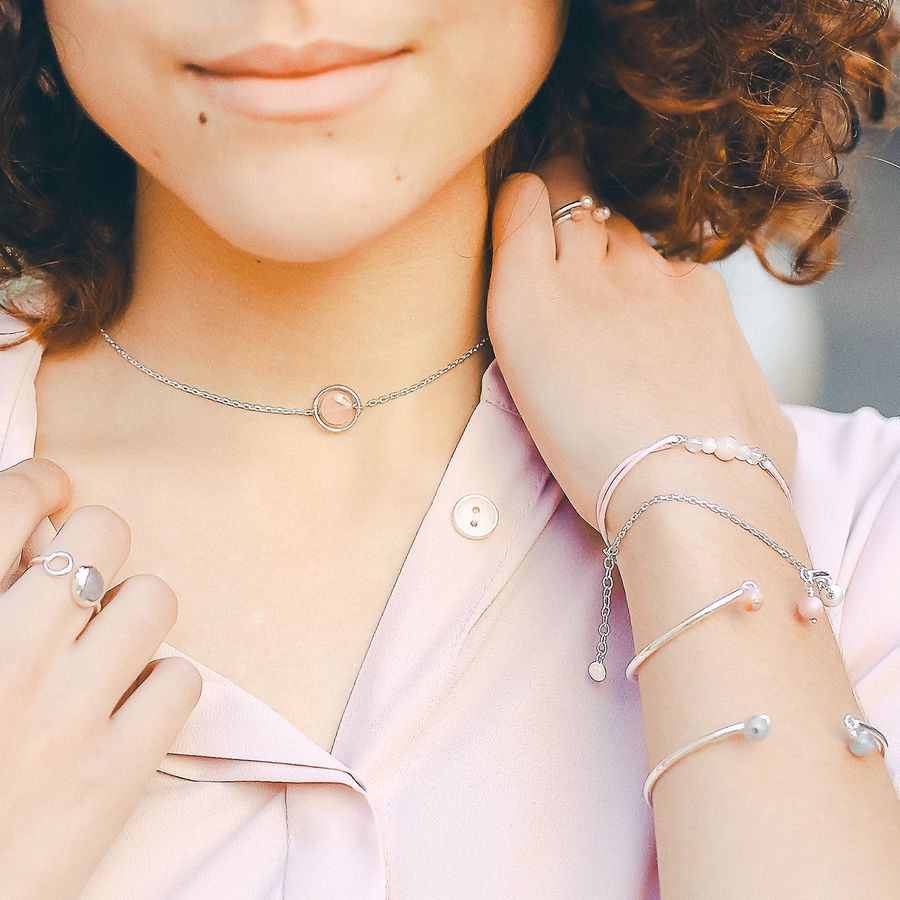 Aglaiaco bijoux argent pierre france ethique calcedoine