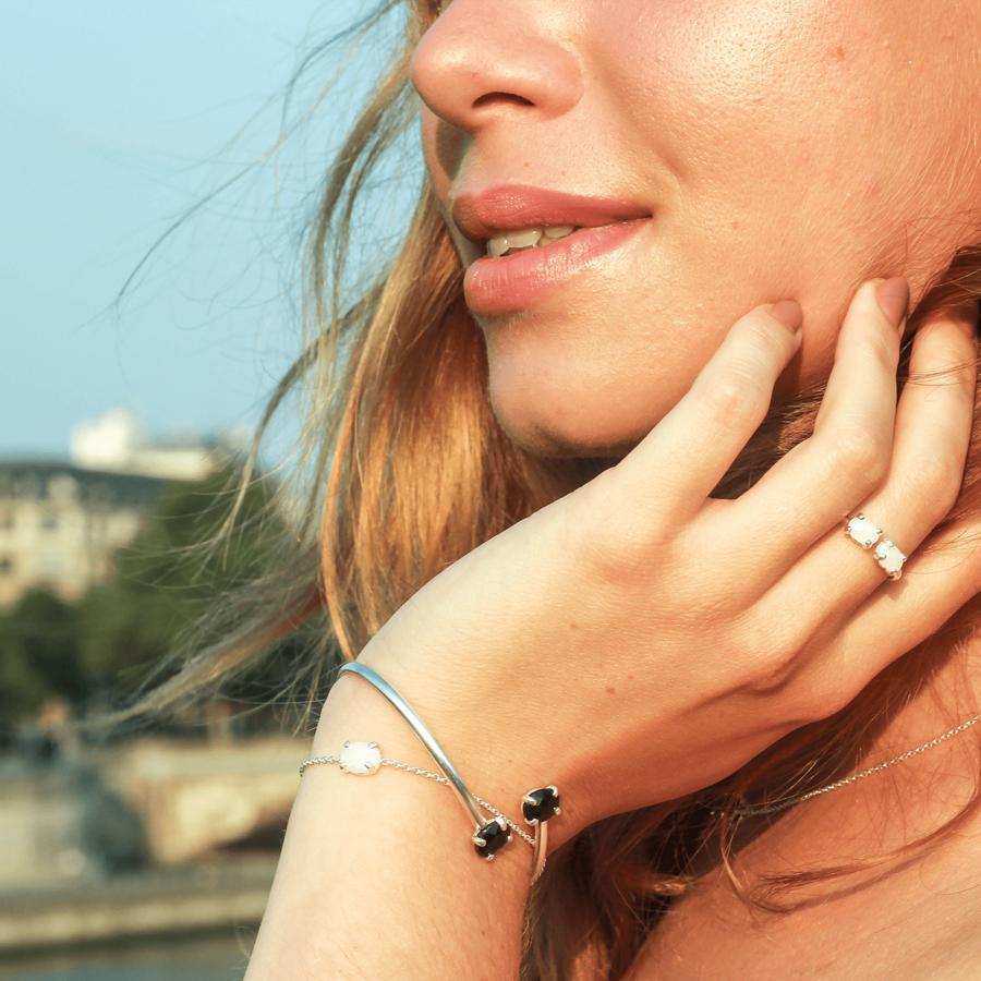 Bijoux argent pierre nuit paris aglaiaco %283%29