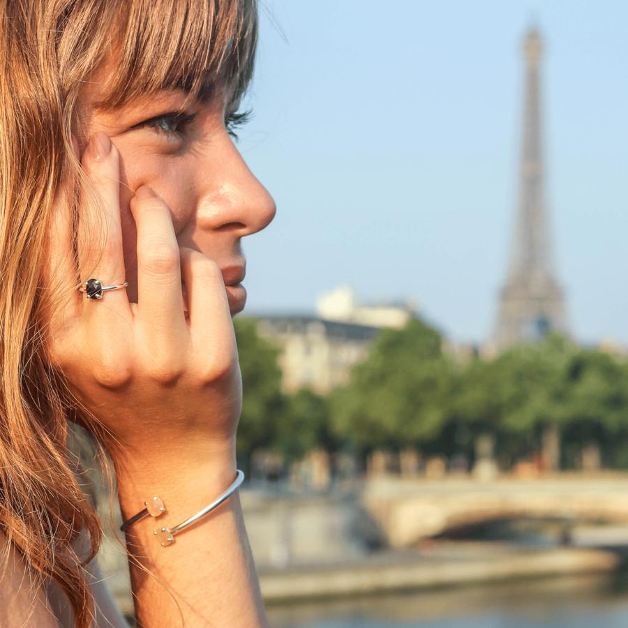 Bijoux argent pierre nuit paris aglaiaco %2810%29