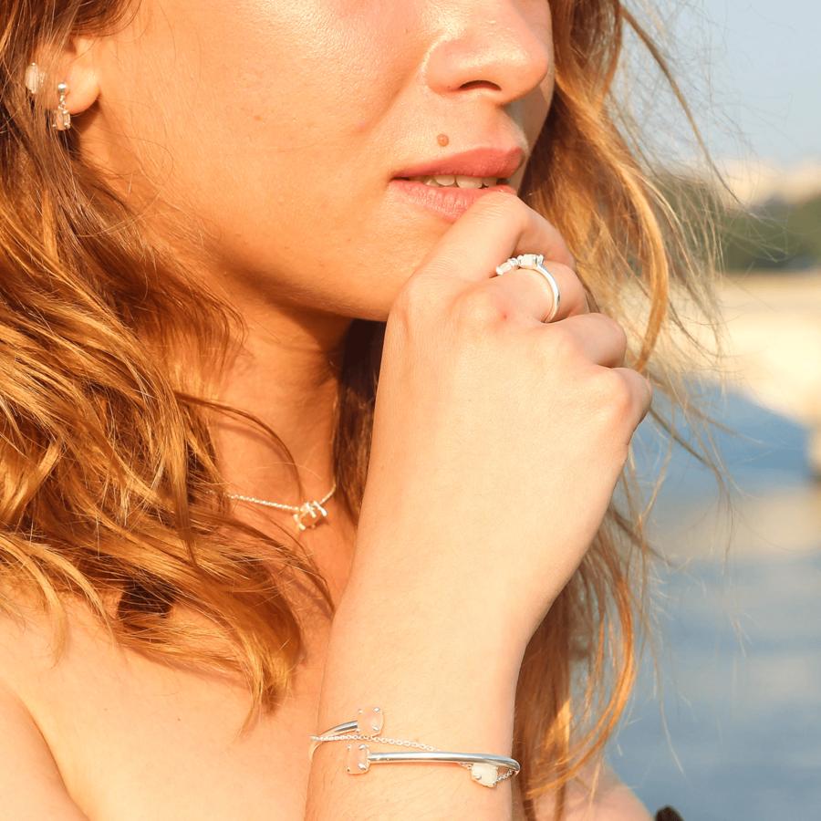 Bijoux argent pierre nuit paris aglaiaco %2814%29