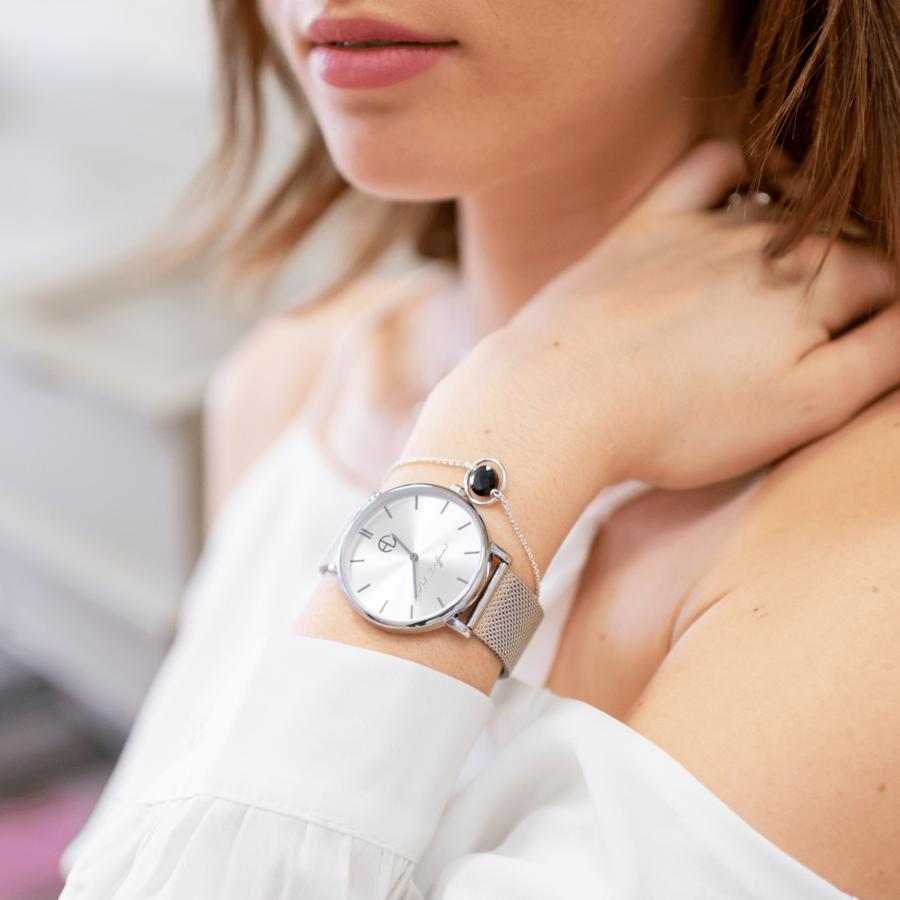 Montre bracelet milanais made in france aglaia bijouterie %c3%a9thique