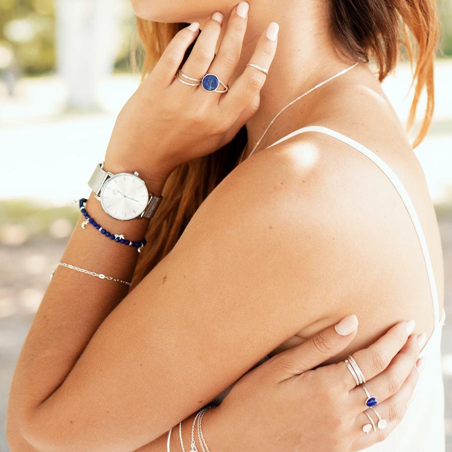 Bague fine argent lapis lazuli gemme montre france aglaiaco %283%29