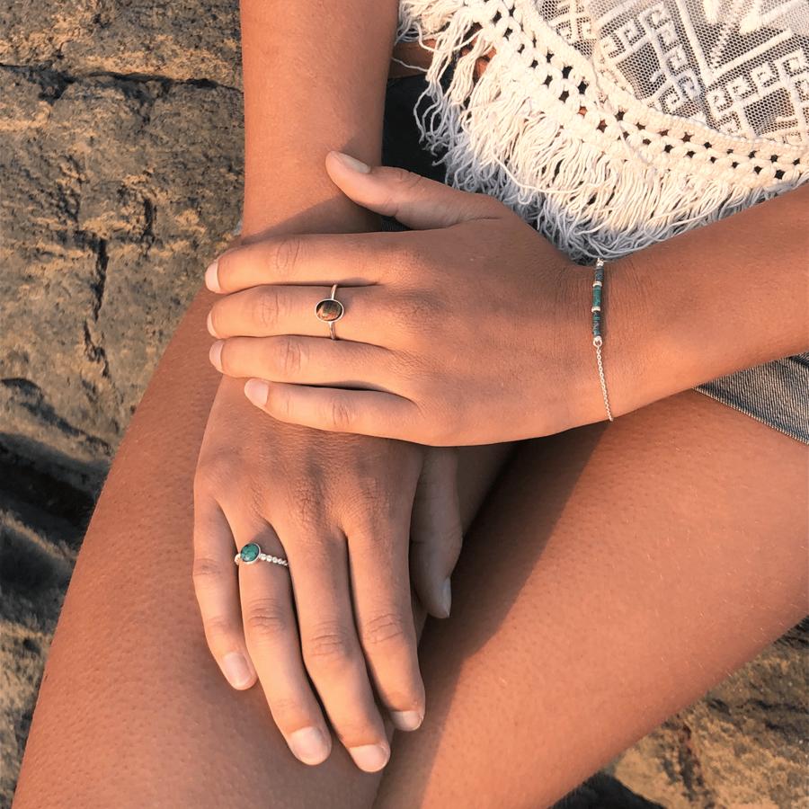 Bague bracelet turquoise wild gipsy argent aglaiaco %281%29