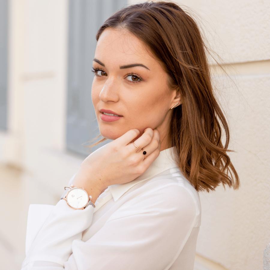 Aglaia bijoux %c3%a9thique montre made in france bracelet milanais