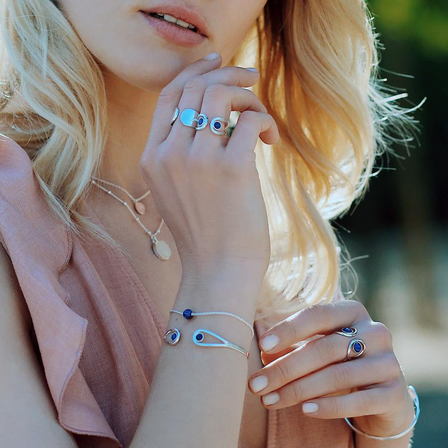 Bijoux lapis lazuli argent massif pierre fabrication francaise aglaiaco %281%29