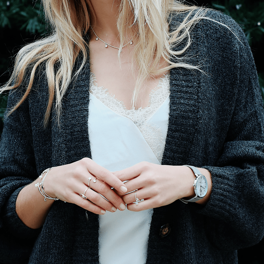 Bijoux bague bracelet argen massif aglaiaco