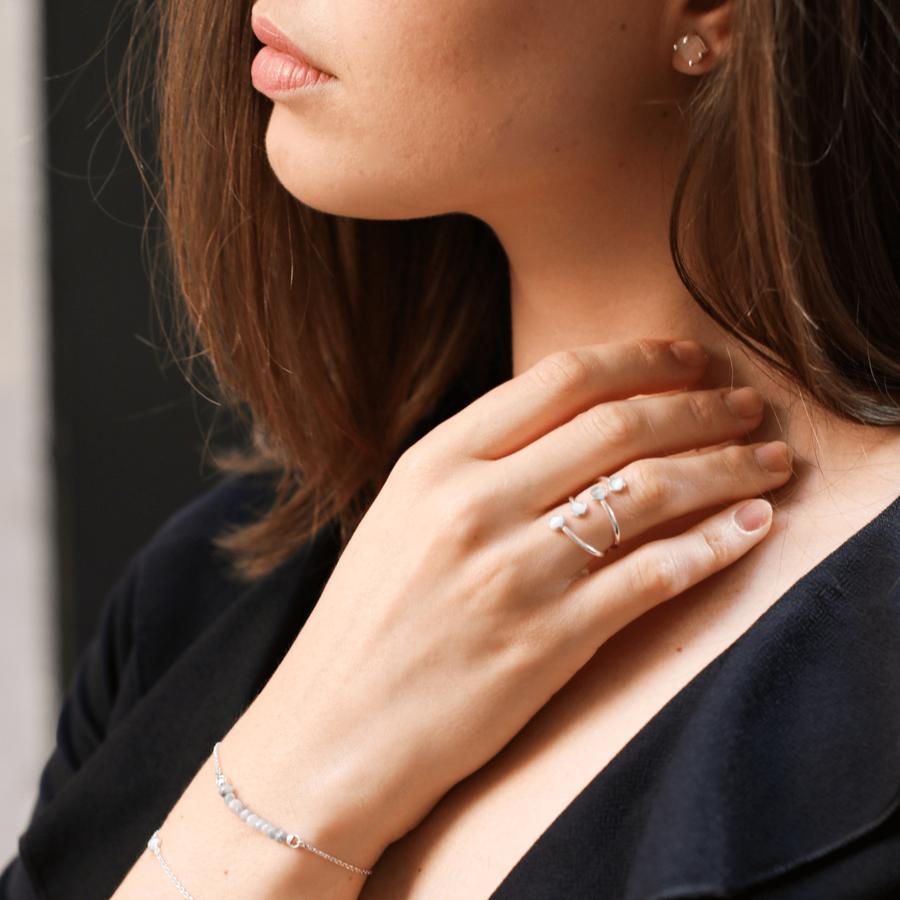 Bracelets argent pierre quartz saphir miss france aglaiaco %282%29