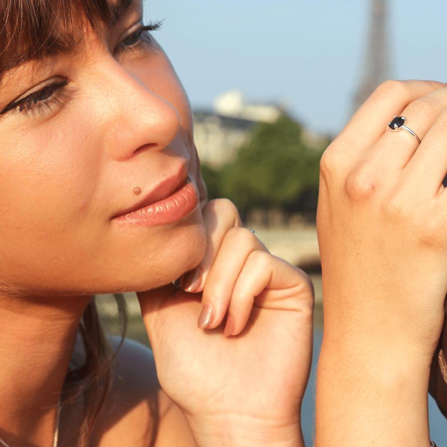 Bijoux argent pierre nuit paris aglaiaco %285%29