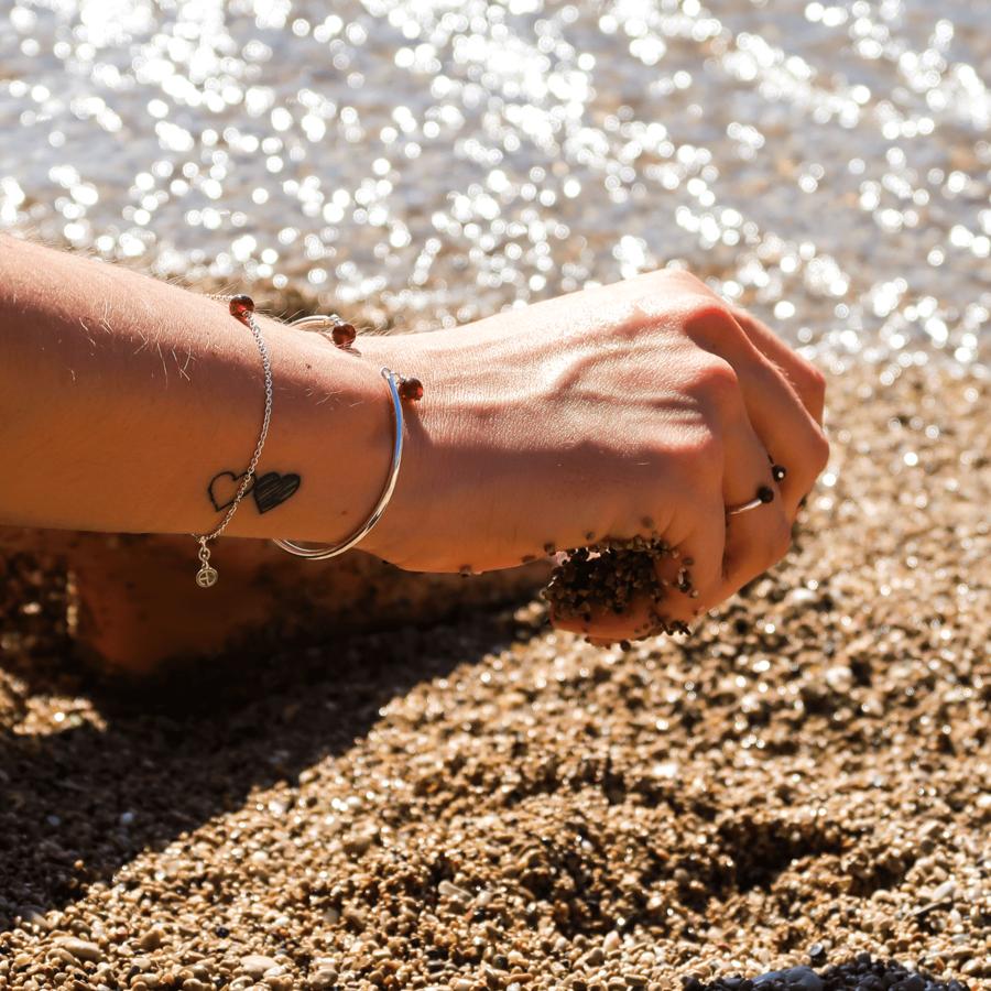 Bijoux argent elegance grenat bracelet bague aglaiaco %282%29