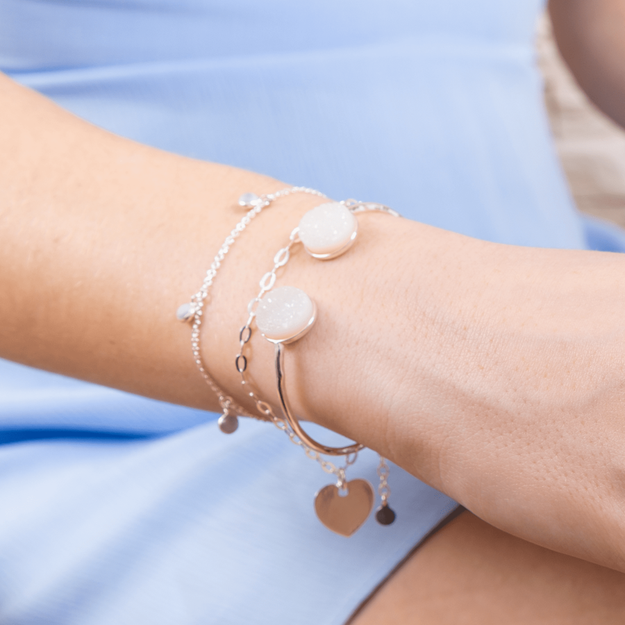 Aglaia made in france pierre druzy bracelet jonc