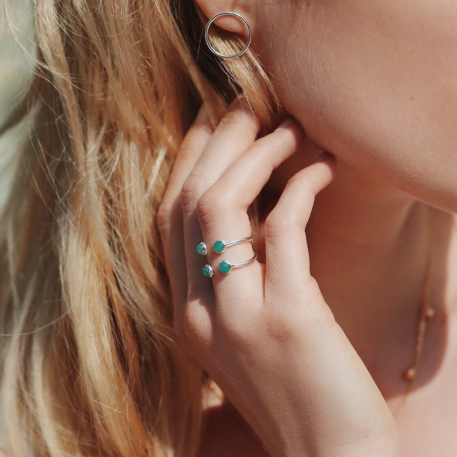 Bague argent boucles oreilles anneaux bijoux aglaiaco %282%29