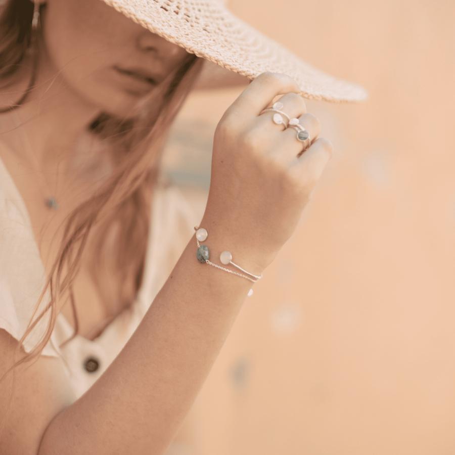 Bijoux %c3%a9thique made in france aglaia bracelet