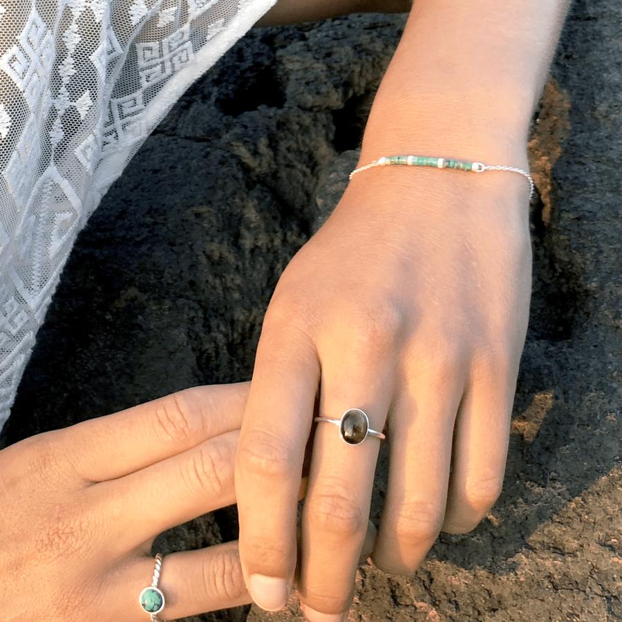 Bague bracelet turquoise wild gipsy argent aglaiaco %284%29