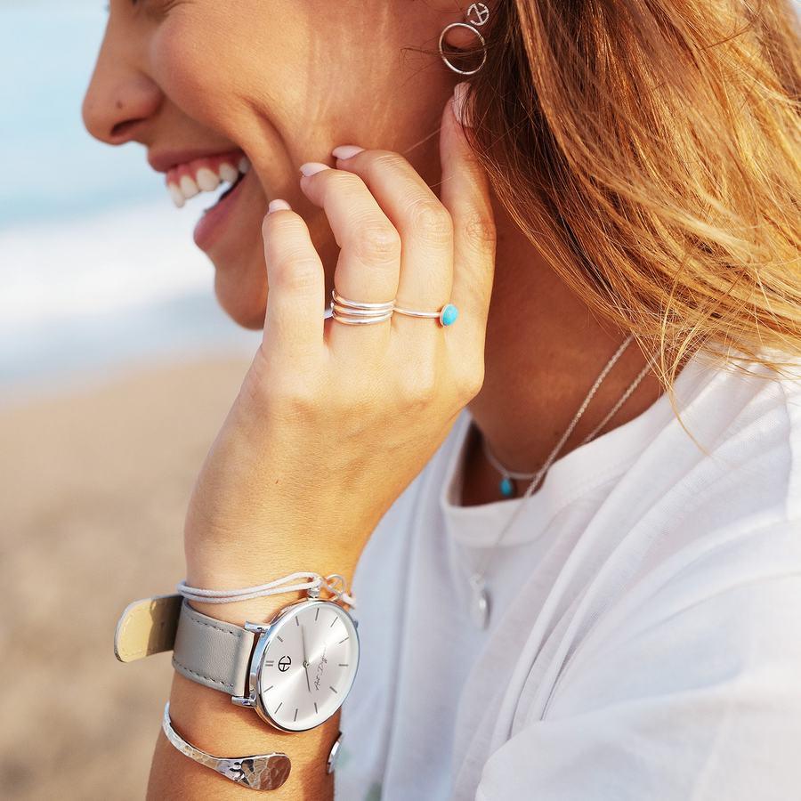 Bague montre bijoux turquoise bleu ethique france aglaiaco %284%29