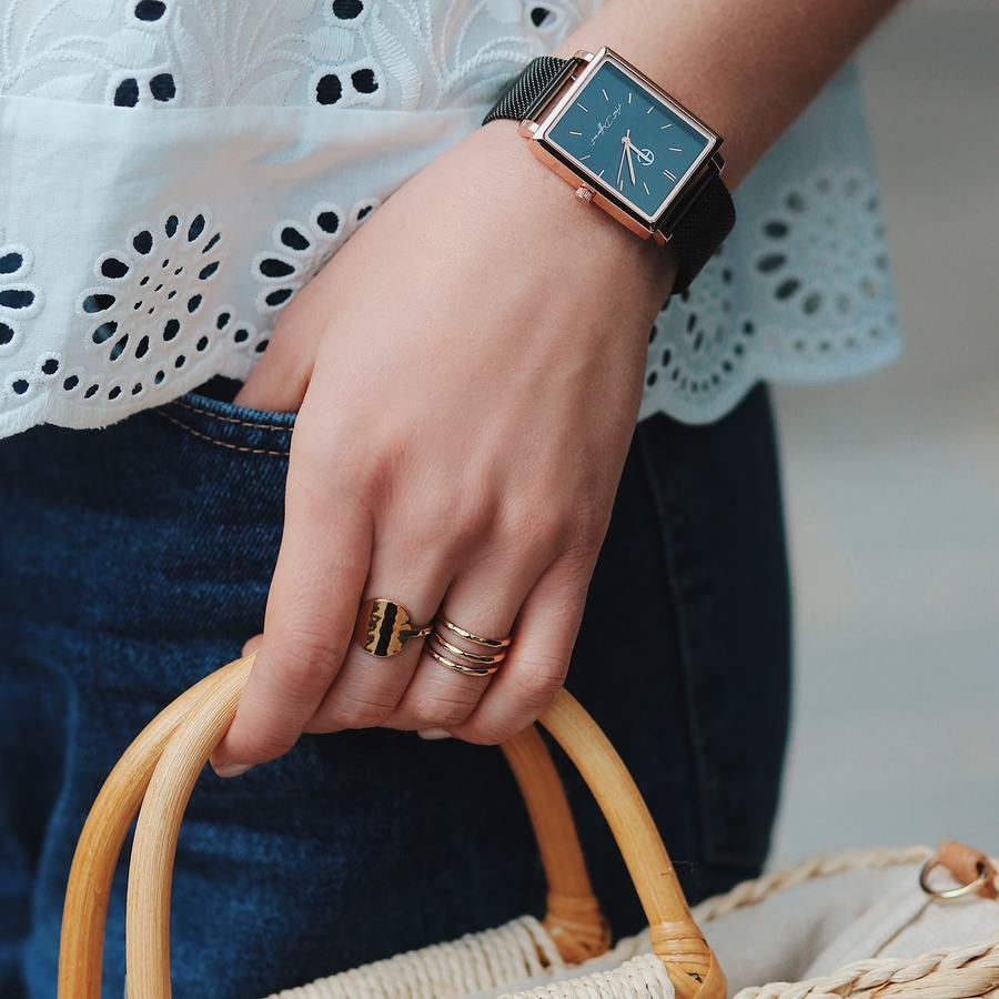 Montre milanais bracelet noir carr%c3%a9 aglaiaco %285%29