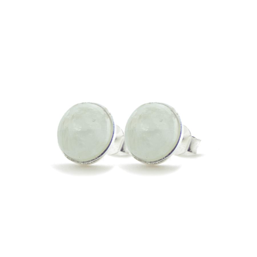 clair de lune pierre boucles d/'oreilles boucles d/'oreilles en pierre précieuse.