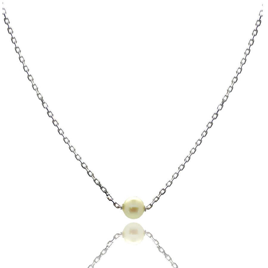 Aglaia bijoux argent pierre collier perle culture elegance eternelle 1