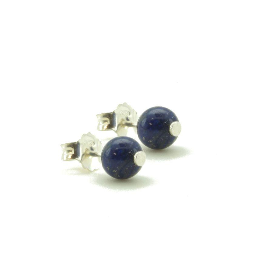 Aglaia bijoux argent pierre bo puce lapis lazuli elegance eternelle 1
