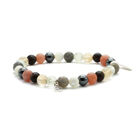 Aglaia bijoux argent pierre bracelet elastique caprice petillant automne 2015 1