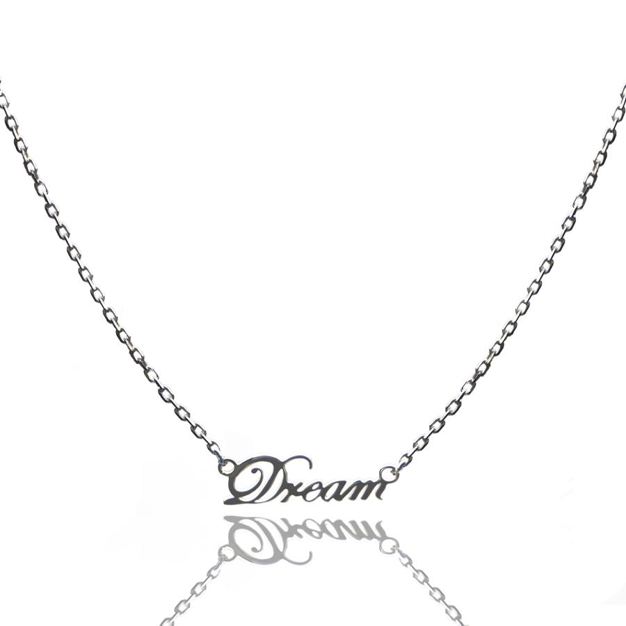 Aglaia bijoux argent pierre collier dream reve eau profonde 1