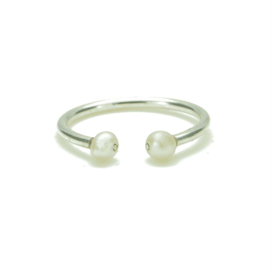 Aglaia bijoux argent pierre bague perle culture elegance eternelle 1