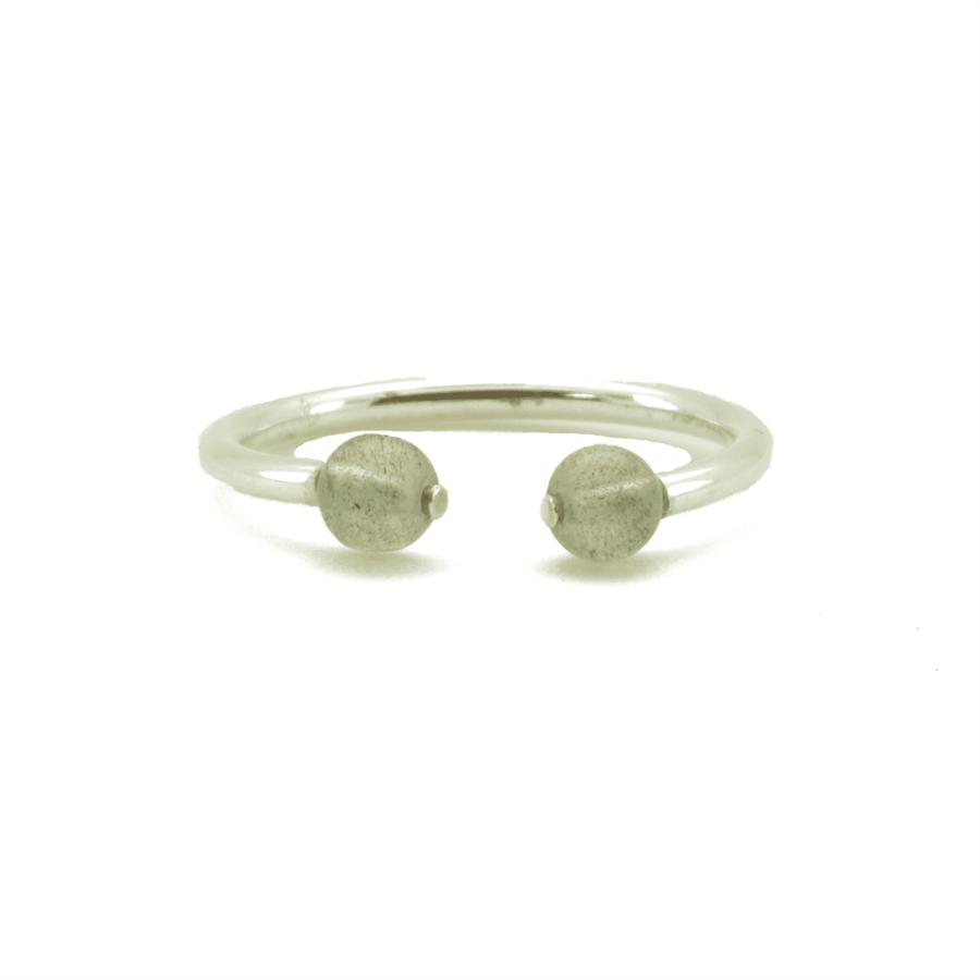 Aglaia bijoux argent pierre bague labradorite elegance eternelle 1