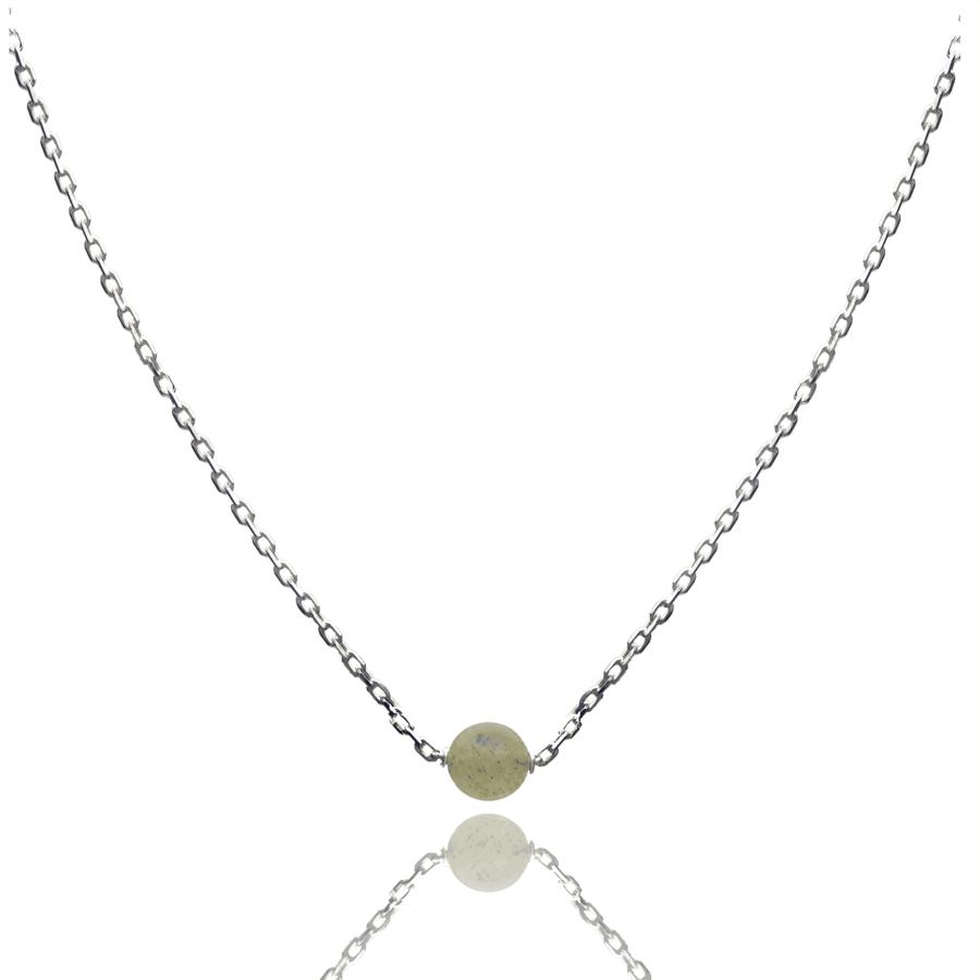 Aglaia bijoux argent pierre collier labradorite elegance eternelle 1