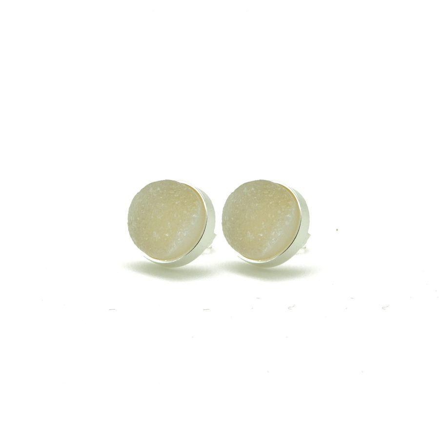 Aglaia bijoux argent pierre bo puce druzy 1
