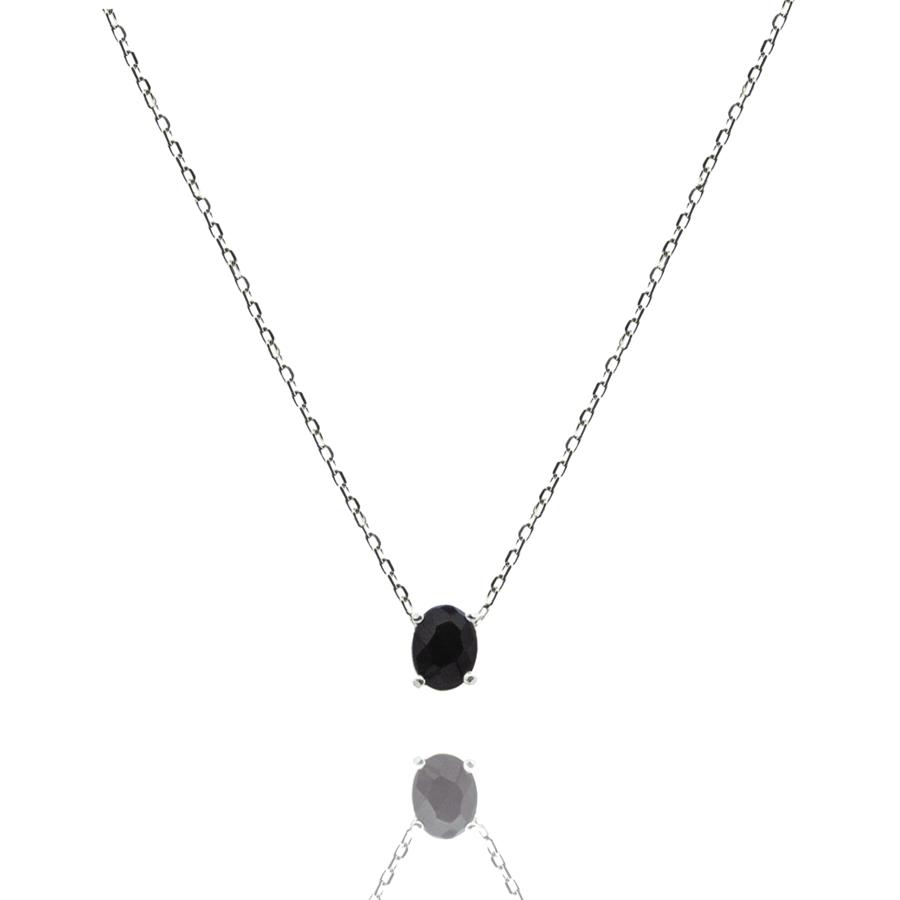 Collier argent bijoux pierre onyx paris aglaiaco