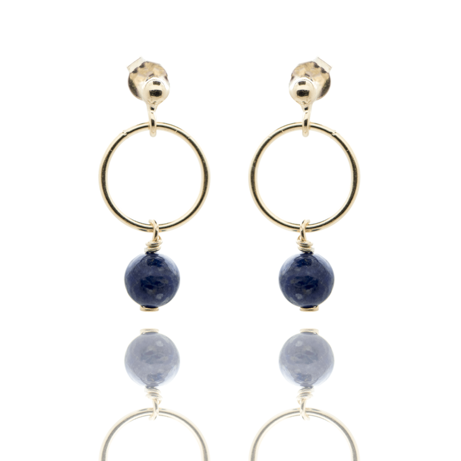 Boucles oreilles plaqu%c3%a9 or pendantes lapis lazuli aglaiaco