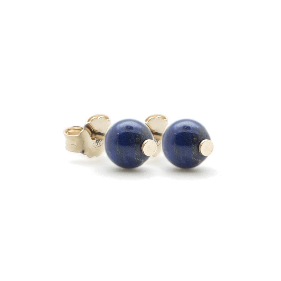 Boucles oreilles plaqu%c3%a9 or lapis lazuli aglaiaco