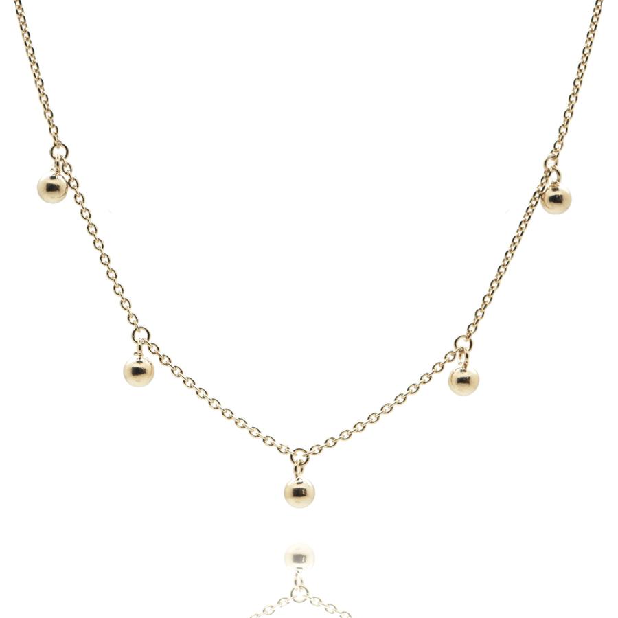 Collier plaque or bijoux aglaiaco