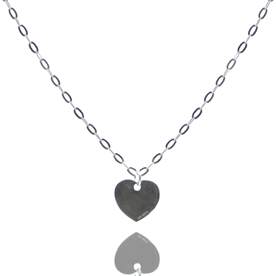Collier coeur argent bijoux aglaiaco