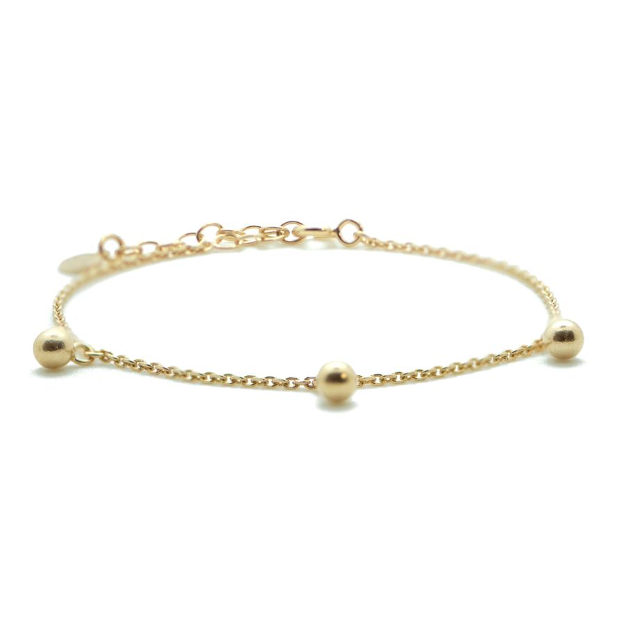 Bracelet plaque or bijoux perle aglaiaco